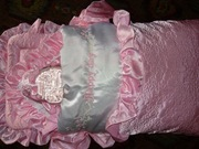 Продам конвертик для девочки Happy day.Конврет на молнии+одеяло+чепчик