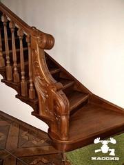 Мебель из массива. Двери. Лестницы.