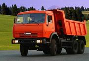 Перевозка грузов на самосвале Камаз в Плавске.