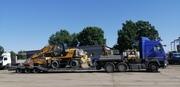 Перевозка габаритных и негабаритных грузов низкорамными тралами.Аренда