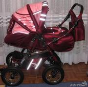 Продам всесезонную польскую коляску-трансформер